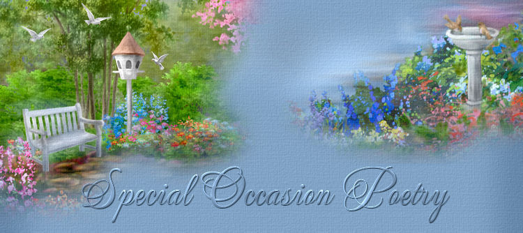 Christian Poetry Special Occasions topimage